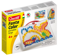 Купить Quercetti Мозайка Фантастические цвета 950, Quercetti S.P.A, Обучение и развитие
