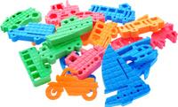 Купить Pic'nMix Набор игрушек для ванной Транспорт цвет оранжевый cиний зеленый, Первые игрушки