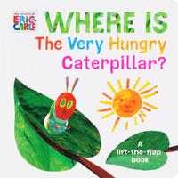 Купить Where is The Very Hungry Caterpilar?, Первые книжки малышей