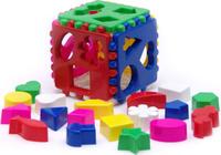 Купить Karolina Toys Сортер Большой логический кубик, Развивающие игрушки