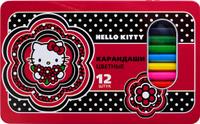 Купить Action! Набор цветных карандашей Hello Kitty 12 цветов, Карандаши