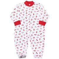 Купить Комбинезон домашний для девочки Веселый малыш Спелая вишня, цвет: розовый. 51322/св-набивка. Размер 80, Одежда для новорожденных