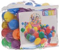 Купить Intex Набор пластиковых шариков для сухого бассейна диаметр 8 см 100 шт, Мячи и шары