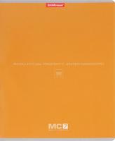 Купить Полиграфика Тетрадь МС 7 96 листов в клетку цвет оранжевый, Тетради