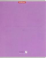 Купить Полиграфика Тетрадь МС 7 96 листов в клетку цвет сиреневый, Тетради