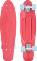 Купить Пенни борд Penny Nickel , цвет: розовый, белый, голубой, дека 69 х 19 см, Скейтборды и пенни борды