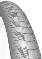 Купить Покрышка велосипедная Mitas V99 Cityhopper , цвет: серый, 28 х 2, Колеса