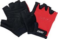 Купить Перчатки детские велосипедные BBB Kids , цвет: красный, черный. BBW-45. Размер S, Велоперчатки