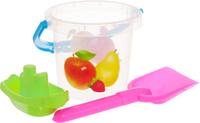 Купить Набор для песка Stellar , №121, 3 предмета цвет прозрачный, Игрушки для песочницы