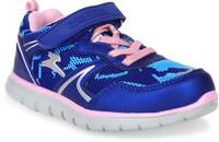 Купить Кроссовки для девочки Зебра, цвет: синий. 10896-5. Размер 28, Обувь для девочек