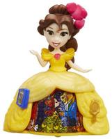 Купить Disney Princess Мини-кукла Принцесса Бель в платье с волшебной юбкой, Куклы и аксессуары