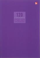 Купить Эксмо Тетрадь Стиль и цвет 120 листов в клетку цвет лиловый 1820441, Тетради