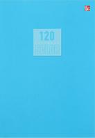 Купить Эксмо Тетрадь Стиль и цвет 120 листов в клетку цвет голубой 1820442, Тетради