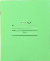 Купить ТетраПром Тетрадь 18 листов в клетку цвет зеленый, Тетради