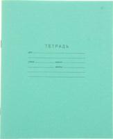 Купить КПК Тетрадь 18 листов в клетку цвет зеленый, Тетради