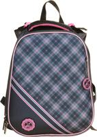 Купить Hatber Ранец школьный Ergonomic Розовая шотландка