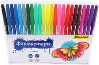 Купить Silwerhof Набор фломастеров Бабочки 24 цвета, Фломастеры