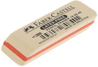 Купить Faber-Castell Ластик цвет белый, Чертежные принадлежности