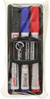 Купить Erich Krause Набор маркеров для доски W-500 c губкой 3 цвета, Маркеры