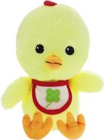 Купить Gulliver Мягкая игрушка Цыпленок Цыпа в нагруднике цвет желтый 20 см