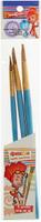Купить Фиксики Набор кистей из волоса козы Файер № 8, 10, 12 (3 шт), Кисти