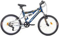Купить Велосипед Larsen Raptor 20 , цвет: синий, белый, Велосипеды