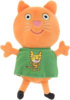 Купить Peppa Pig Мягкая игрушка Кенди с тигром 20 см, Росмэн, Мягкие игрушки
