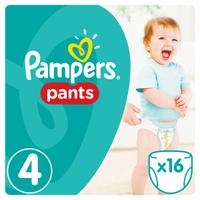 Купить Pampers Pants Трусики 9-14 кг (размер 4) 16 шт, Подгузники и пеленки