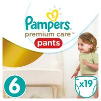 Купить Pampers Pants Трусики Premium Care от 16 кг (размер 6) 19 шт, Подгузники и пеленки