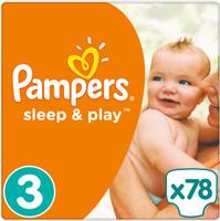 Купить Pampers Подгузники Sleep & Play 5-9 кг (размер 3) 78 шт