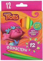 Купить Trolls Набор фломастеров 12 цветов, Фломастеры