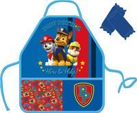 Купить Paw Patrol Фартук детский с нарукавниками Щенячий патруль цвет голубой, Аксессуары для труда