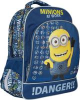 Купить Universal Миньоны Рюкзак цвет синий желтый 31895, Росмэн, Ранцы и рюкзаки