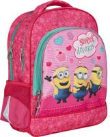 Купить Universal Миньоны Рюкзак цвет розовый 31901, Росмэн, Ранцы и рюкзаки