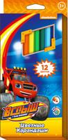 Купить Blaze Набор цветных карандашей Вспыш 12 цветов, Карандаши