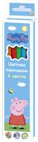 Купить Peppa Pig Набор цветных карандашей Свинка Пеппа 6 цветов, Карандаши
