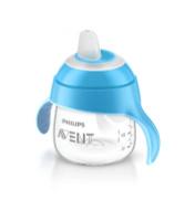 Купить Philips Avent Волшебная чашка-непроливайка от 6 месяцев цвет: голубой, 200 мл SCF751/00