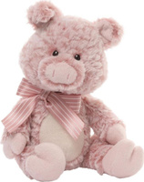 Купить Gund Мягкая игрушка Wyatt Pig 28 см, Enesco, Мягкие игрушки