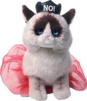 Купить Gund Мягкая игрушка Queen Grumpy Cat 23 см, Мягкие игрушки
