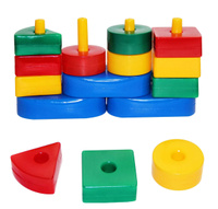 Купить Строим вместе счастливое детство Сортер Логическая горка, Развивающие игрушки