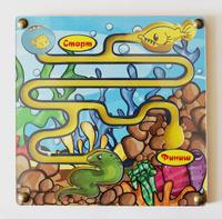 Купить Игрушки Тимбергрупп Обучающая игра Лабиринт Рыбка хочет домой, Обучение и развитие