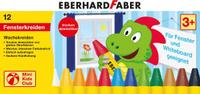Купить Eberhard Faber Мелки восковые трехгранные водостойкие 12 цветов, Мелки и пастель