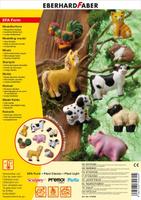 Купить Eberhard Faber Набор формочек для лепки Домашние животные 9 шт, Faber-Castell, Пластилин