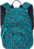 Купить Grizzly Рюкзак дошкольный цвет бирюзовый RS-756-5/1, Ранцы и рюкзаки