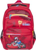 Купить Grizzly Рюкзак цвет красный RB-732-2/4, Ранцы и рюкзаки