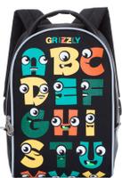 Купить Grizzly Рюкзак дошкольный цвет черный RS-734-5/2, Ранцы и рюкзаки