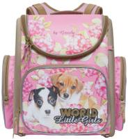 Купить Grizzly Ранец школьный World Little Girls цвет розовый, Ранцы и рюкзаки