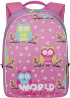 Купить Grizzly Рюкзак дошкольный цвет розовый RS-764-2/4, Ранцы и рюкзаки