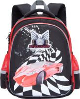 Купить Grizzly Ранец школьный цвет черный RA-778-8/1, Ранцы и рюкзаки