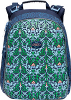 Купить Grizzly Ранец школьный цвет синий RA-779-4/1, Ранцы и рюкзаки
